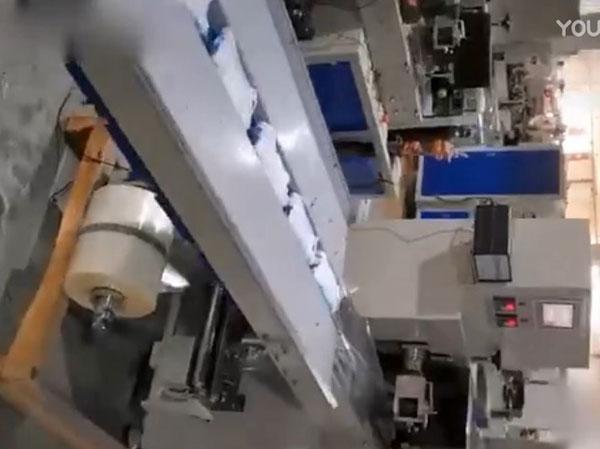 郑州口罩包装机视频